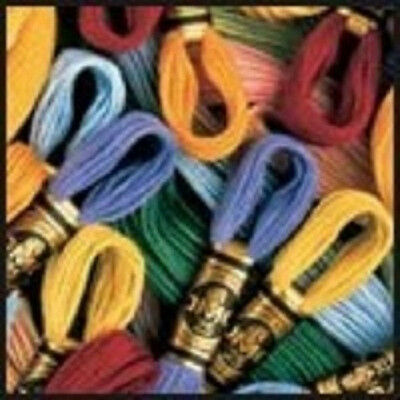 DMC® 6-Strand Embroidery Floss - 454 Colors to choose from - 2 skeins for $.99