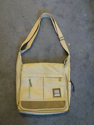 4627a5b5f5 Kaukko Men s Military Canvas Messenger bag has broken zipper