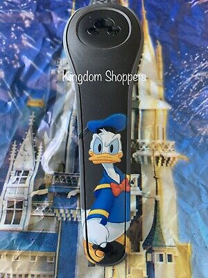 NEW DISNEY DONALD DUCK AUTOGRAPH BLACK Magic Band 2 Magicband Link Later