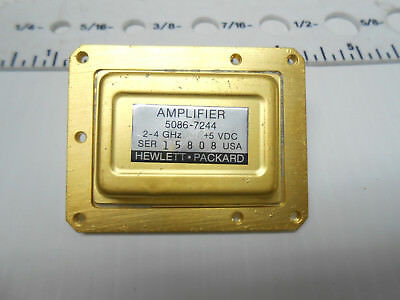 5086-7244 Hp Amplifter Gold Plated +5 Vdc New Old Stock