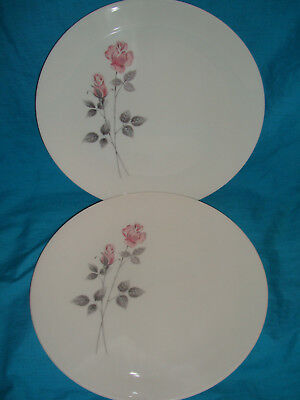 Royal Doulton - Pillar Rose - Dinner Plate x 2 (several pairs available)