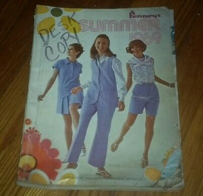 1969 Summer JC Penneys catalog VINTAGE jcpennys PENNY'S PENNEY'S fashion clothes
