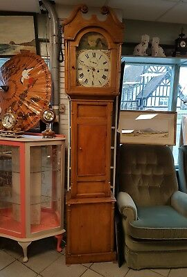 Antique longcase clock Spark Aberdeen