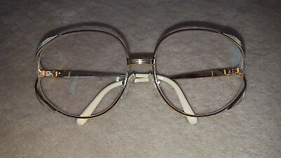 Christian Dior Womens Eyeglass frames-Butterfly Style-Gold-CD-Vintage