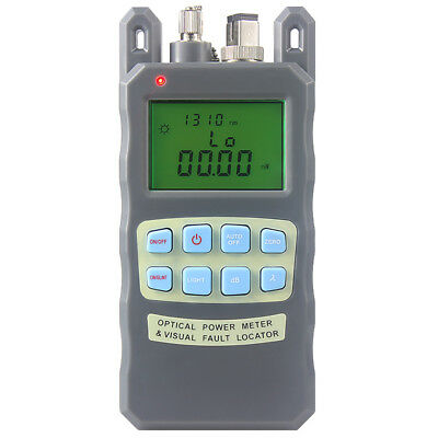 All-IN-ONE Fiber optical power meter -70 to +10dBm and 10mw 10km Fiber Optic Cab