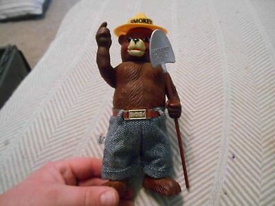 Vintage R. Dakin Smokey the Bear Plastic Figure, just over 8 inches tall