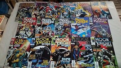 MOON KNIGHT Comic Book LOT Set x16 Vol 2 3 4 PUNISHER Fist of KHONSHU sc hc tpb