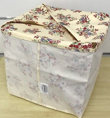 Longaberger Large Sweetest Gift Basket Liner and Protector in Floral Bouquet