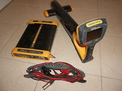 Metrotech Vivax Vloc 9800 Pipe And Cable Locator Radiodetection Rd8000