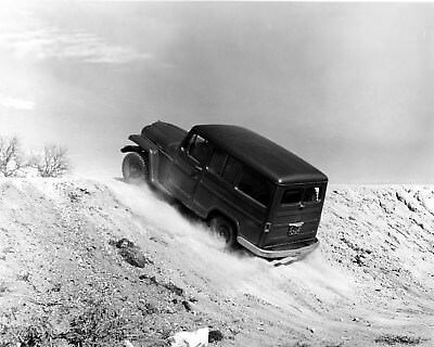 1954 Willys Station Wagon Factory Photo ca9726