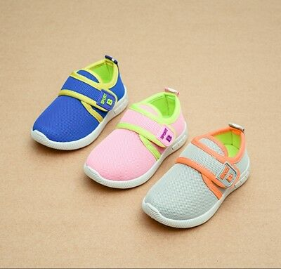 High quality Girls Boys Infants Sport Shoes Mesh Children Kids Casual Shoes