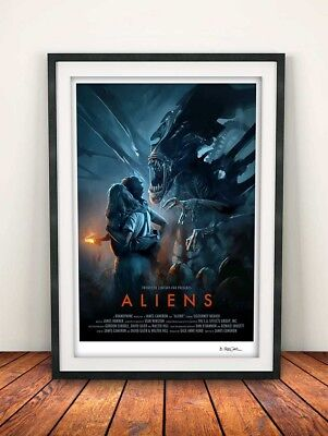 Aliens Fan Made Movie Poster
