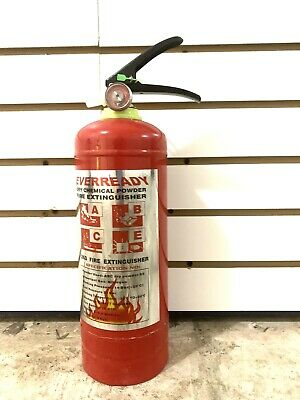 Fire Extinguisher 1kg Rechargeble Emergency Home, Car, Auto garage, Safety