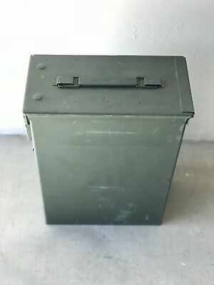 60mm Ammo Can PA-70, Military Surplus, Excellent Condition 6x12x16.5 tall 50 cal