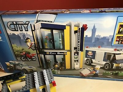 Lego City Bank And Money Transfer 3661 Boxed With Instructions