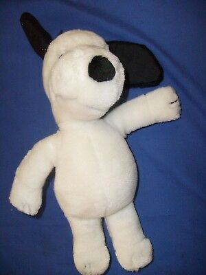 Snoopy  Doll Peanuts Father Applause with Tag Vintage Plush  11 inches  / q6