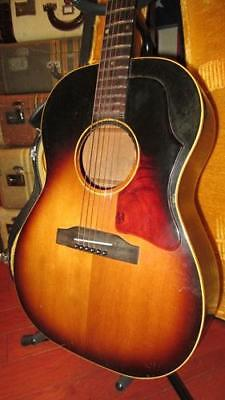 Vintage Original 1964 Gibson LG-1 Small Bodied Acoustic Sunburst With Hard Case