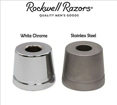 ROCKWELL RAZORS STAINLESS STEEL BASE STAND, You choose from 3 Styles/ Colors