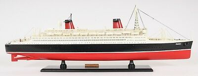 Impeccable Detailing Of The SS France Painted Model Will Amaze You