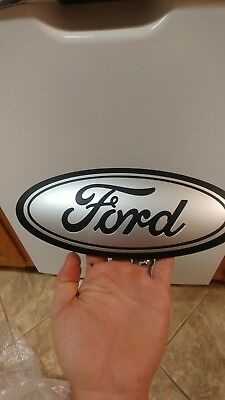 "2015-18 Ford F150 platinum TAILGATE emblem custom GLOSS magnetic /& black 5/""!"