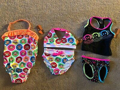 Paul Frank Little Girls Swimsuit Bathing Suit Julius the Monkey Sizes 2T, 4T