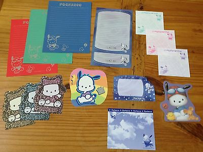 Sanrio POCHACCO Stationery / Stationary LOT 15 Sheets MEMO Paper