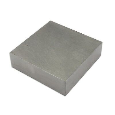 "SOLID STEEL DOMING BENCH BLOCK ANVIL 4"" X 4"" x 3/4"" 100mm x 10mm x 18mm TOOL"