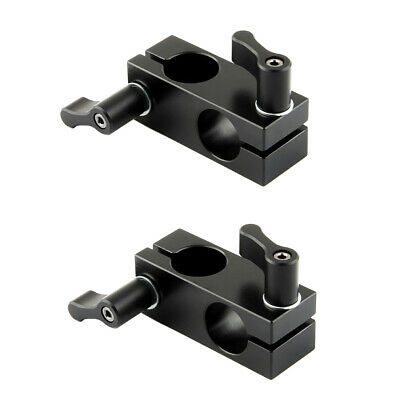 NICEYRIG 90 Angle 15mm Rail Block Rod Clamp Mount for Camera Cage Rail Clamp Rig