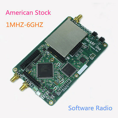 HACKRF 1 SOFTWARE Defined Radio 1MHz to 6GHz SDR Development Board