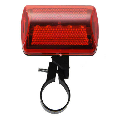 5X(Flashing Red 5 LED Light 7 Modes Rear Lamp for Bike Bicycle DW