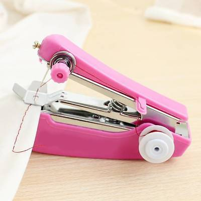 Portable Mini Smart Electric Tailor Stitch Hand-held Sewing Machine Home Travel