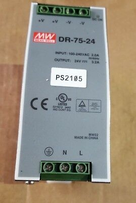 Meanwell Dr-75-24 Power Supply ((In16S3B4))