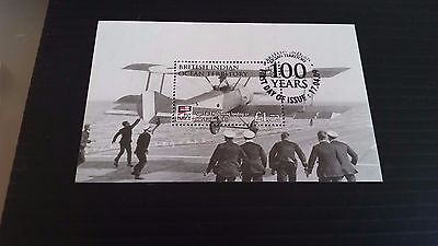 British Indian Ocean Territory 2009 Sg Ms407 Cent Of Naval Aviation Used