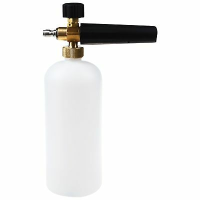 Snow Foam Lance Sprayer Washer Soap Bottle Car Pressure Wash Gun 1/4 1L T7U2