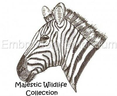 Majestic Wildlife Collection - Machine Embroidery Designs On Cd