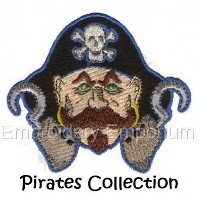 Pirates Collection - Machine Embroidery Designs On Cd