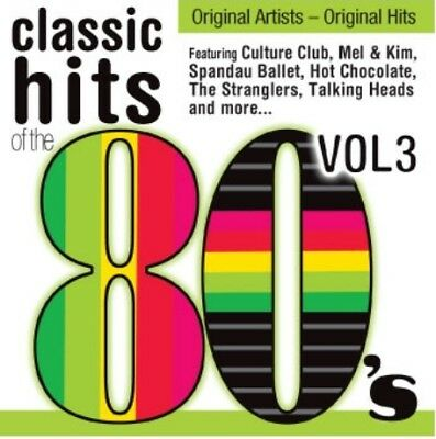 Classic Hits of the 80's Vol 3, CD, Various artists, new & sealed