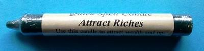 ATTRACT RICHES Quick Spell Ritual Candle!