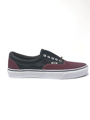 9d63a1e474 Vans Era Leather Plaid Rhubarb Black Men s 11 Skate Shoes New NIB  Skateboarding