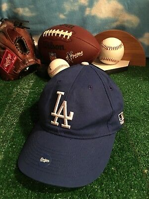 368a75292 La Dodgers Hat Ball Cap Los Angeles Baseball Mlb Adjustable Strap Youth H27