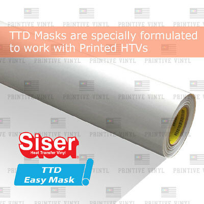 Siser Ttd Easy Mask High Tack 12 X 20""