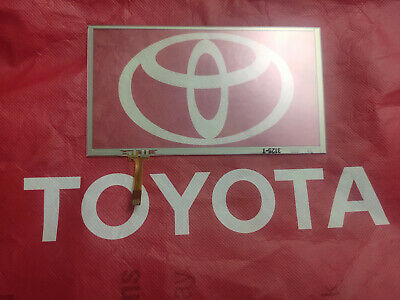 12-17 TOYOTA CAMRY TOUCH-SCREEN glass Digitizer touch pad 4 apps RADIO 6.1""