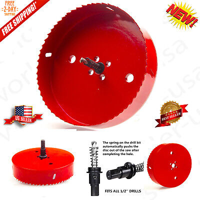 6 inch 150 mm Hole Saw Blade For Cornhole Boards Corn Hole Drilling Cutter Hex