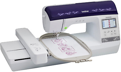 BROTHER BP1400E 6x10 Embroidery Machine With Color Screen & USB