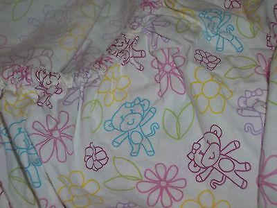 Little MissMatched Monkey Fitted Crib Sheet {Fabric} Miss Matched Toddler Bed