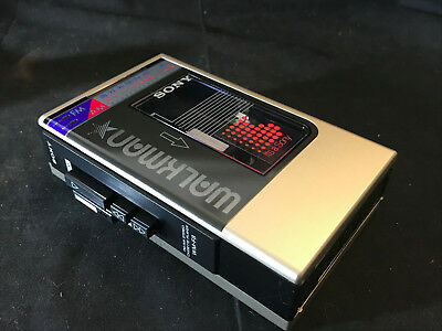 Old Vtg Collectible Sony Walkman WM-F8  FM/AM Stereo Cassette Player In Box