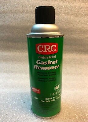 Crc Gasket, Paint, Decal Remover *Lot Of 8* P/N 03017, Net Weight 12 Oz.