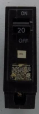 General Electric Circuit Breaker 20Amp