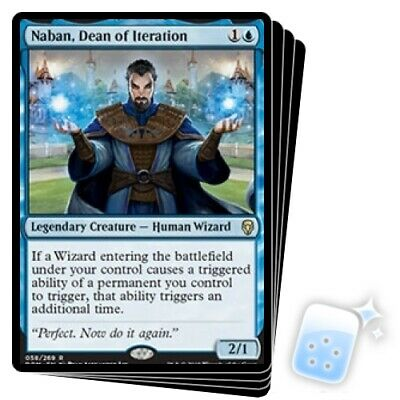 Naban MTG Dean of Iteration X1 NM Dominaria *CCGHouse* Magic