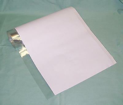 """20 YD roll 12"""" Brodart Just-a-Fold III Archival Book Jacket Covers - Super Clear"""